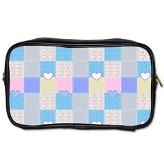 Patchwork Toiletries Bags 2-Side