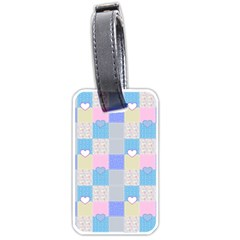 Patchwork Luggage Tags (One Side)