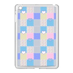 Patchwork Apple iPad Mini Case (White)