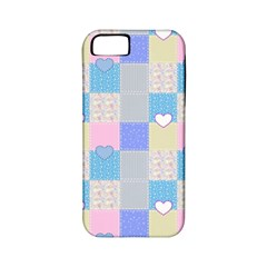 Patchwork Apple iPhone 5 Classic Hardshell Case (PC+Silicone)