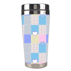 Patchwork Stainless Steel Travel Tumblers