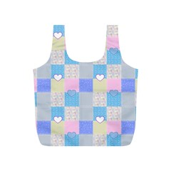 Patchwork Full Print Recycle Bags (S)