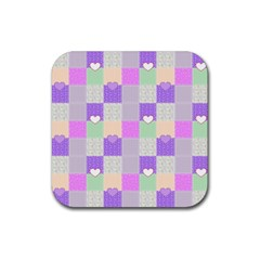 Patchwork Rubber Coaster (Square)