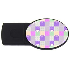 Patchwork USB Flash Drive Oval (2 GB)