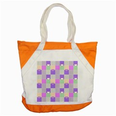 Patchwork Accent Tote Bag