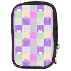 Patchwork Compact Camera Cases