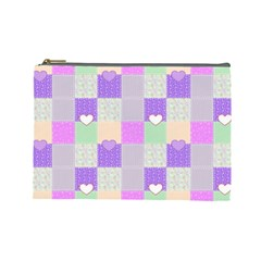 Patchwork Cosmetic Bag (Large)