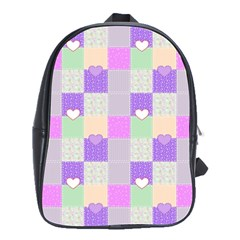 Patchwork School Bags(Large)