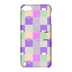 Patchwork Apple iPod Touch 5 Hardshell Case with Stand