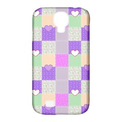 Patchwork Samsung Galaxy S4 Classic Hardshell Case (PC+Silicone)