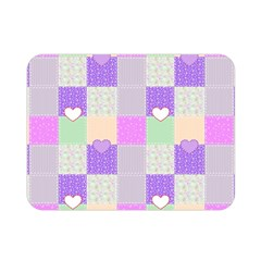 Patchwork Double Sided Flano Blanket (Mini)