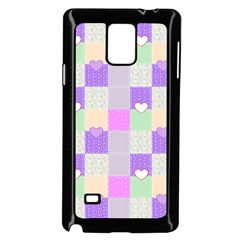 Patchwork Samsung Galaxy Note 4 Case (Black)