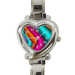 Fractal Wallpaper Color Pipes Heart Italian Charm Watch