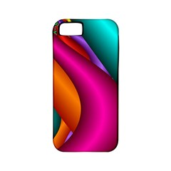 Fractal Wallpaper Color Pipes Apple Iphone 5 Classic Hardshell Case (pc+silicone)