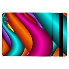 Fractal Wallpaper Color Pipes Ipad Air Flip
