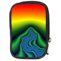 Fractal Wallpaper Water And Fire Compact Camera Cases