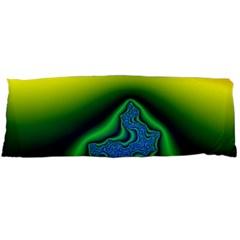 Fractal Wallpaper Water And Fire Body Pillow Case (dakimakura)