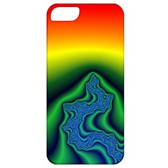 Fractal Wallpaper Water And Fire Apple iPhone 5 Classic Hardshell Case