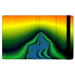 Fractal Wallpaper Water And Fire Apple Ipad 2 Flip Case