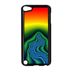 Fractal Wallpaper Water And Fire Apple Ipod Touch 5 Case (black)