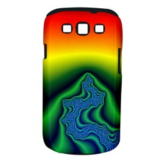Fractal Wallpaper Water And Fire Samsung Galaxy S Iii Classic Hardshell Case (pc+silicone)