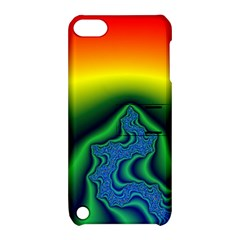 Fractal Wallpaper Water And Fire Apple iPod Touch 5 Hardshell Case with Stand