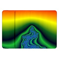 Fractal Wallpaper Water And Fire Samsung Galaxy Tab 8.9  P7300 Flip Case