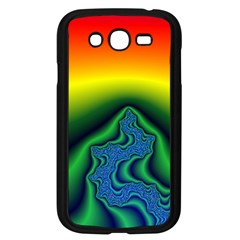 Fractal Wallpaper Water And Fire Samsung Galaxy Grand Duos I9082 Case (black)