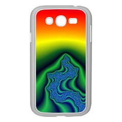 Fractal Wallpaper Water And Fire Samsung Galaxy Grand Duos I9082 Case (white)