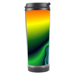 Fractal Wallpaper Water And Fire Travel Tumbler