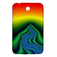 Fractal Wallpaper Water And Fire Samsung Galaxy Tab 3 (7 ) P3200 Hardshell Case