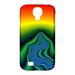 Fractal Wallpaper Water And Fire Samsung Galaxy S4 Classic Hardshell Case (PC+Silicone)