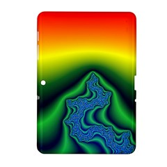 Fractal Wallpaper Water And Fire Samsung Galaxy Tab 2 (10 1 ) P5100 Hardshell Case