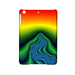 Fractal Wallpaper Water And Fire Ipad Mini 2 Hardshell Cases