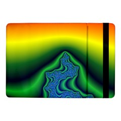 Fractal Wallpaper Water And Fire Samsung Galaxy Tab Pro 10.1  Flip Case