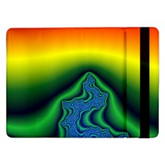 Fractal Wallpaper Water And Fire Samsung Galaxy Tab Pro 12 2  Flip Case