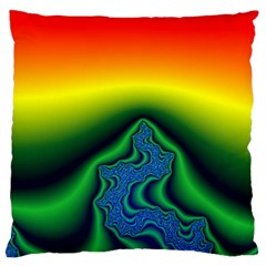 Fractal Wallpaper Water And Fire Standard Flano Cushion Case (one Side)