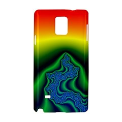 Fractal Wallpaper Water And Fire Samsung Galaxy Note 4 Hardshell Case