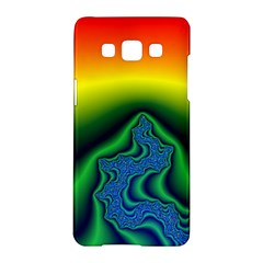 Fractal Wallpaper Water And Fire Samsung Galaxy A5 Hardshell Case