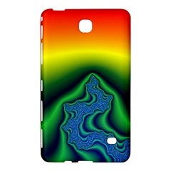 Fractal Wallpaper Water And Fire Samsung Galaxy Tab 4 (7 ) Hardshell Case