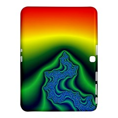Fractal Wallpaper Water And Fire Samsung Galaxy Tab 4 (10.1 ) Hardshell Case