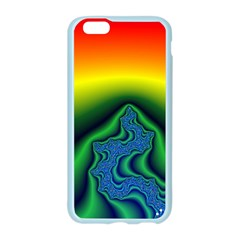 Fractal Wallpaper Water And Fire Apple Seamless iPhone 6/6S Case (Color)