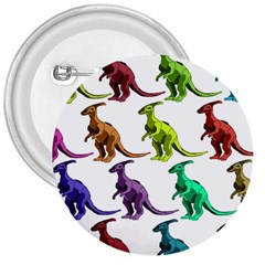 Multicolor Dinosaur Background 3  Buttons