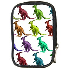 Multicolor Dinosaur Background Compact Camera Cases