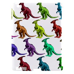 Multicolor Dinosaur Background Apple Ipad 3/4 Hardshell Case (compatible With Smart Cover)