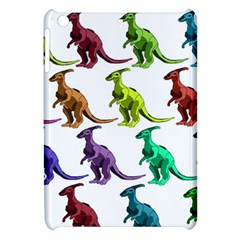 Multicolor Dinosaur Background Apple iPad Mini Hardshell Case