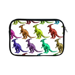 Multicolor Dinosaur Background Apple iPad Mini Zipper Cases