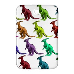 Multicolor Dinosaur Background Samsung Galaxy Note 8 0 N5100 Hardshell Case