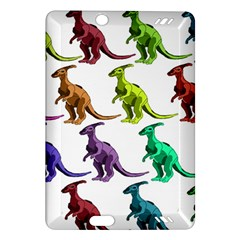 Multicolor Dinosaur Background Amazon Kindle Fire Hd (2013) Hardshell Case