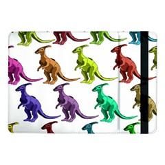Multicolor Dinosaur Background Samsung Galaxy Tab Pro 10 1  Flip Case